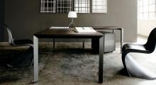 Diamond Executive dark wood Desk