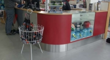 Cash Counter Display Area 1