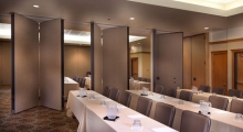 Banquiting folding partitioning