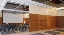 Conference Folding Partition open