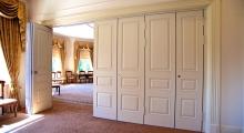 Paneled Folding Wall