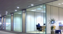Glazed Office like shop front