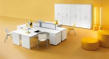 Kompas Corner Core Desk and Storage