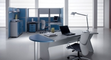 Kompas Desk Grey