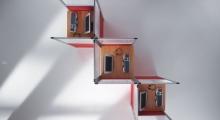 Kompas Hot Desking Plan View