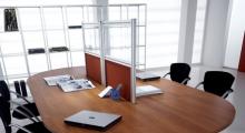 Kompas Meeting Table as Desk