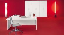 Kompas White Desk 1