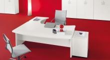 Kompas White Desk