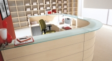 Reception Desk LUNA 2