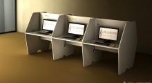 Mac Call Center Desk