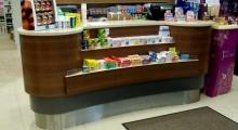 Pharmacy Counter Display