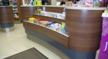 Pharmacy Dispensing Counter 2