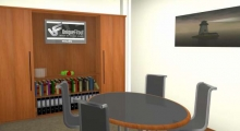 Office Interior Meeting Room Render