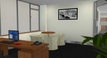 Office Interior Render 1