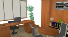 Office Interior Render 2