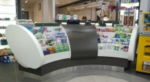 Pharmacy Display Counter 1