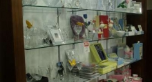 Jewellers Glass Shelving Display