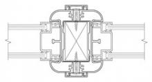Demountable Partitioning System_3000 Radiused Profile