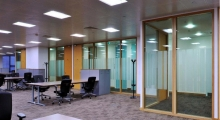 System 5000 Glazing in openplan office