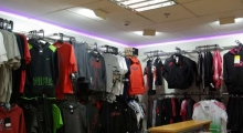 Sports Shop Clothing Display 1